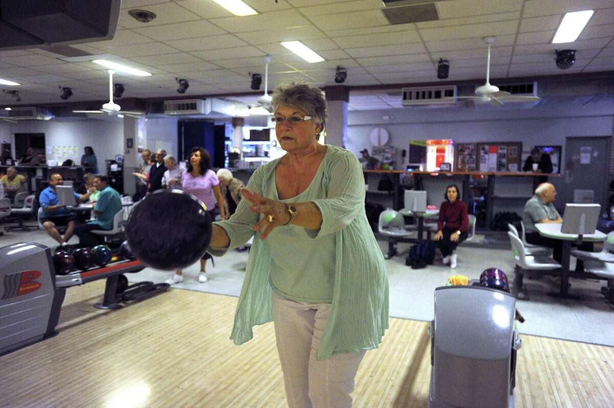 Chancey Blackburn spends an afternoon bowling. If using an online dating service, post an action shot among your photos.