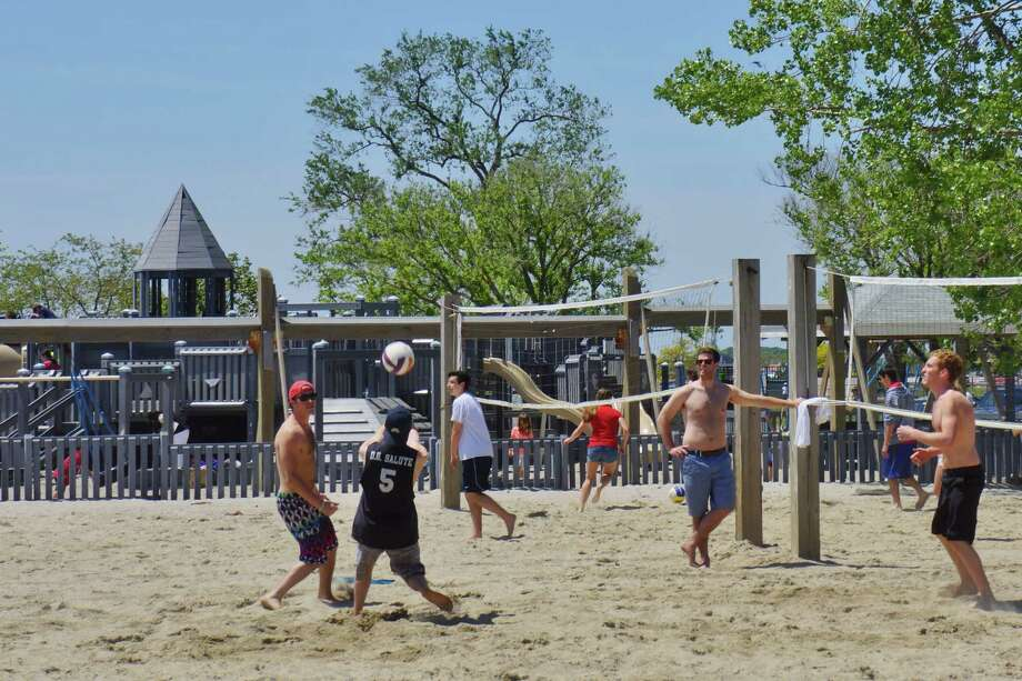 Were you SEEN at the beach? Memorial Day Westport 5/27/2013 Photo: Todd Tracy/ Hearst Connecticut Media Group