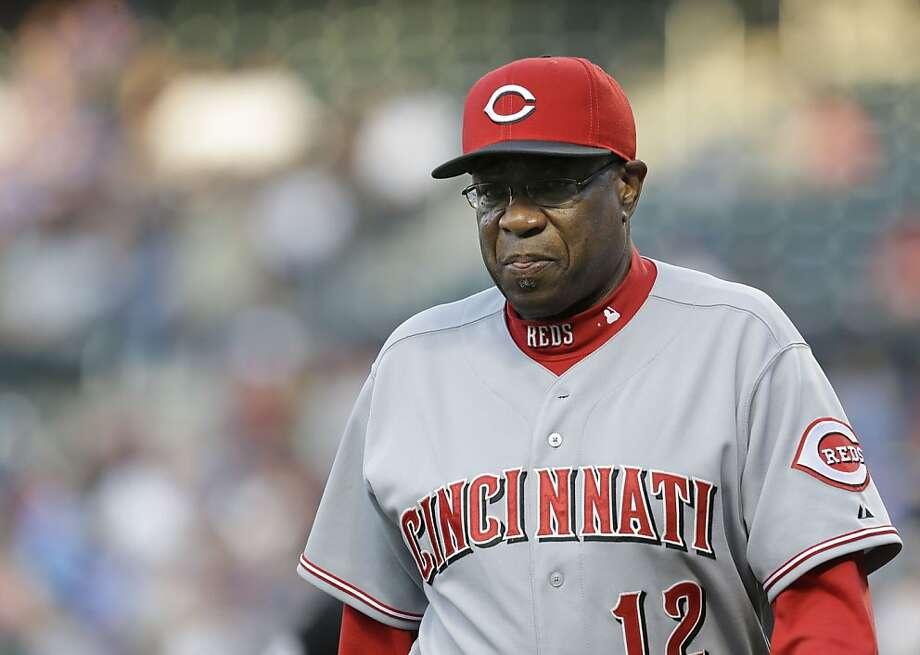 Cincinnati Reds' manager Dusty Baker before the first inning of the baseball game against the New York Mets at Citi Field Monday, May 20, 2013 in New York. (AP Photo/Seth Wenig) Photo: Seth Wenig, Associated Press