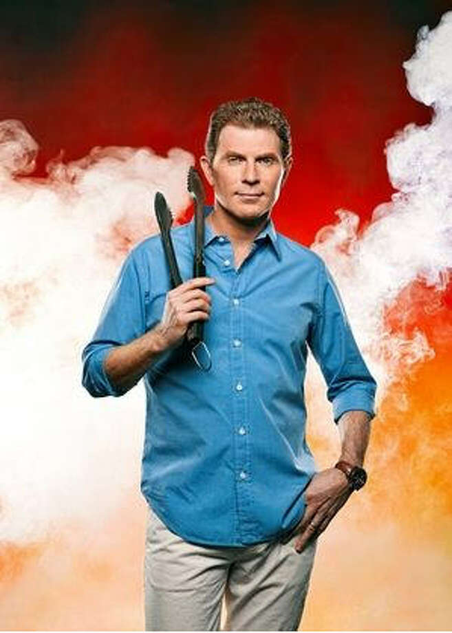 And few chefs are as   synonymous with outdoor cooking as Bobby Flay, whose 12th book, Bobby  Flay's Barbecue Addiction,  is a valentine to his flames-and-flavor  roots. Photo: Brad Tent, USA Weekend
