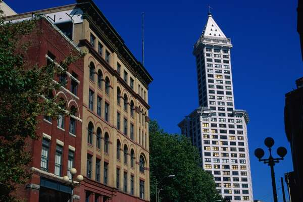 It's the Smith Tower, built in 1914.