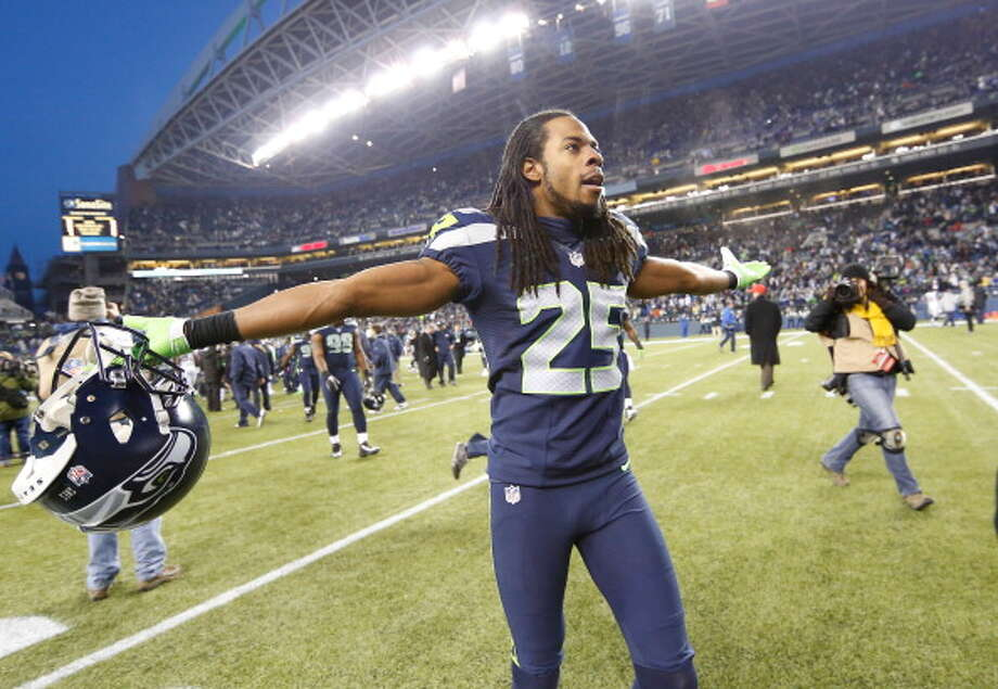 Cornerback: Richard Sherman (2011-present)Pro Bowl: no | All-Pro: 2012  Many pundits say he's now the best cornerback in football, and his play in 2012 -- just his second NFL season -- showed why. His eight interceptions and 24 passes defended earned him a spot on the All-Pro first team, but he got spurned from the Pro Bowl.  Photo: Otto Greule Jr, Getty Images / 2012 Getty Images
