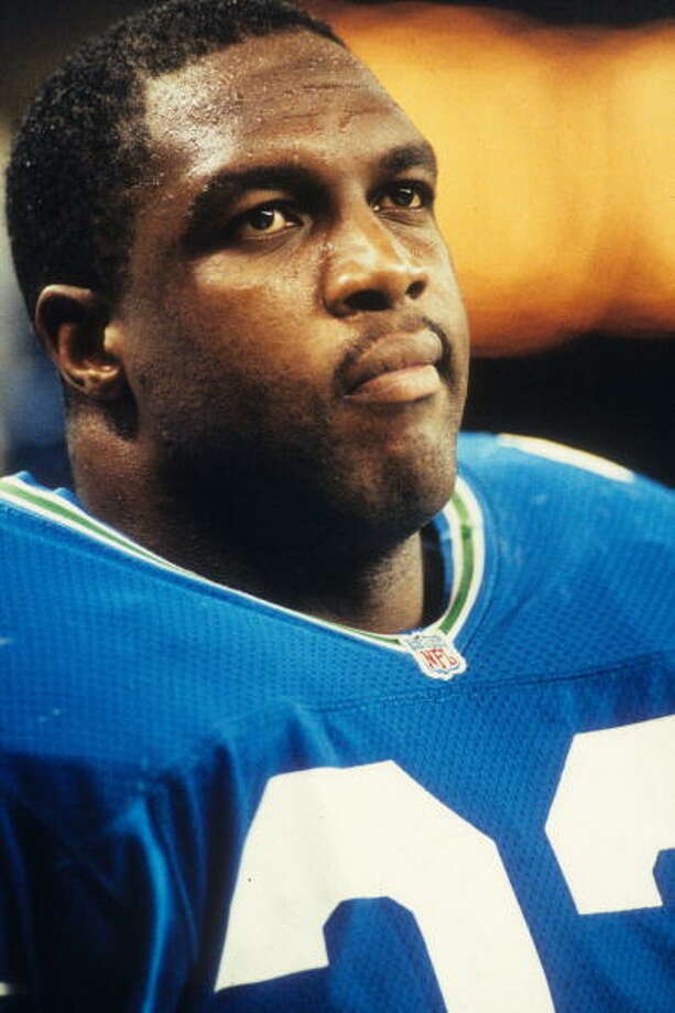 Fullback: John L. Williams (1986-93)Pro Bowl: 1990, '91 | All-Pro: no  He was a familiar face in Seattle for eight years, one of the best fullbacks to ever play for the Seahawks. He ran for 877 yards in 1988, and in the 700s his two years when he went to the Pro Bowl (1990 and '91). Williams ended up retiring after two final years with the Steelers in 1995.  Photo: Joseph Patronite, NFL / 1992 Joseph Patronite