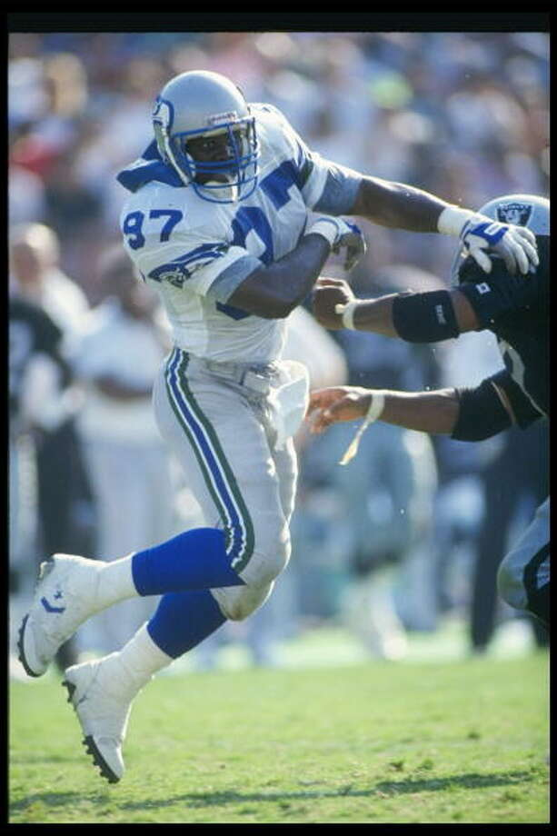 Linebacker: Rufus Porter (1988-94)Pro Bowl: 1988, '89 | All-Pro: no  He spent his first seven pro years in Seattle, including Pro Bowl seasons in his first two years. Porter made 10.5 sacks in 1998, 10 in '91 and 9.5 in '92 as the Seahawks struggled. He left for New Orleans after 1994, and spent two years there then one in Tampa Bay before retiring after 1997.   Photo: Stephen Dunn, Getty Images / Getty Images North America
