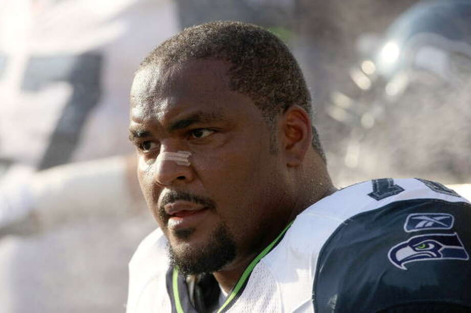 Walter Jones was one of the best tackles not only to play for the Seahawks, but to play the game of football. He had four All-Pro seasons, nine Pro Bowl seasons and started every one of his games for 12 seasons -- all of them with Seattle. Jones was one of the biggest Seahawks stars ever, and is just waiting to see his name in the Seahawks Ring of Honor ... and likely the Pro Football Hall of Fame on Saturday. Photo: Stephen Dunn, Getty Images / 2008 Stephen Dunn