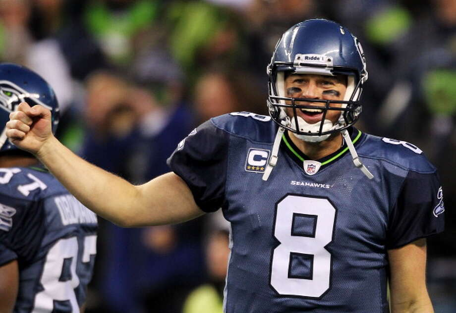 Quarterback: Matt Hasselbeck (2001-10)Pro Bowl: 2003, '05, '07 | All-Pro: no  Hasselbeck was the only quarterback to take the Seahawks to the Super Bowl as the team went 13-3 in 2005. He was a fixture in Seattle for 10 years, and beloved for most of that time until his later seasons with the Seahawks. Hasselbeck holds team records for career and single-season passing yards, and at his prime was one of the best QBs in the NFL. Now, after two years with the Titans, he is backing up Andrew Luck in Indianapolis.  Photo: Otto Greule Jr, Getty Images / 2011 Getty Images