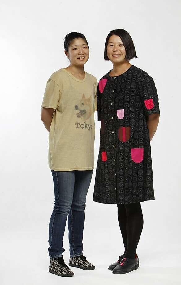 Co-owners of Umami Mart, Yoko Kumano, left, and Kayoko Akabori. Photo: Carlos Avila Gonzalez, The Chronicle