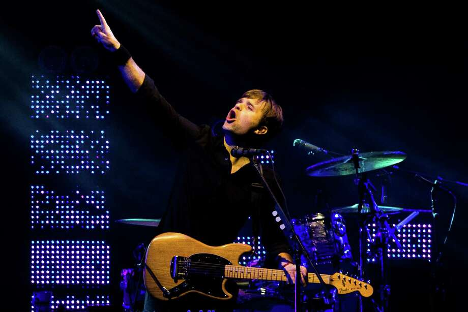 Ben Gibbard of The Postal Service performs from the main stage on the fourth and final day of the annual Sasquatch music festival Monday, May 27, 2013, at The Gorge Amphitheatre in George. Photo: JORDAN STEAD, SEATTLEPI.COM / SEATTLEPI.COM