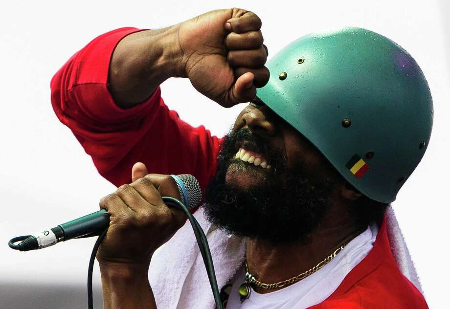 Cody ChesnuTT performs from the Bigfoot stage on the fourth and final day of the annual Sasquatch music festival Monday, May 27, 2013, at The Gorge Amphitheatre in George. Photo: JORDAN STEAD, SEATTLEPI.COM / SEATTLEPI.COM