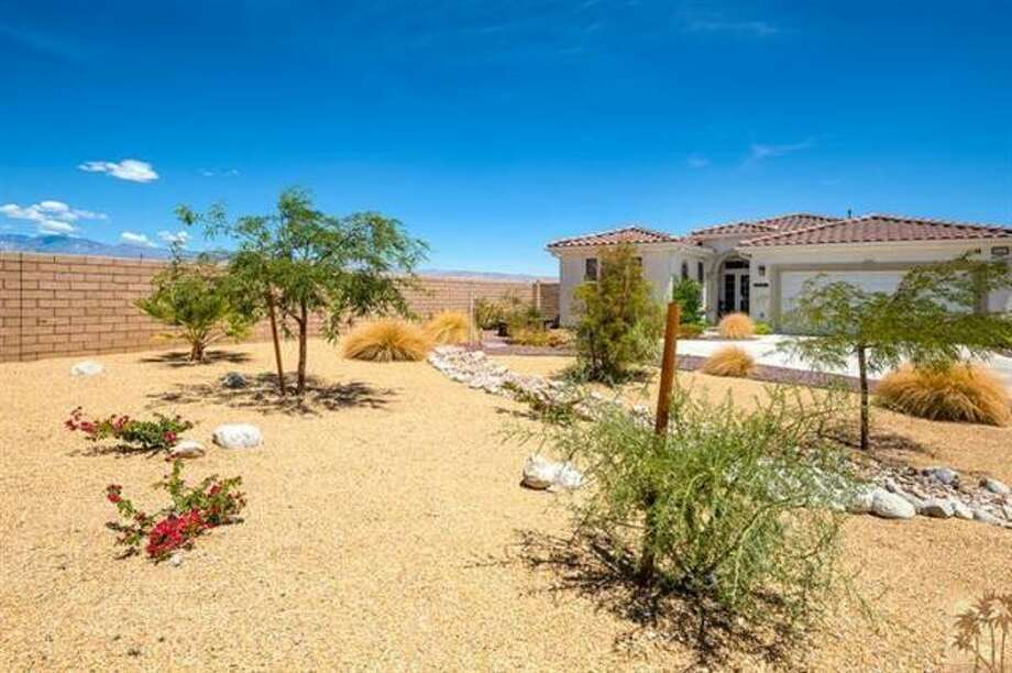 Off to the desert: this Palm Springs 2 bed, 2 bath is listed at $310K.
