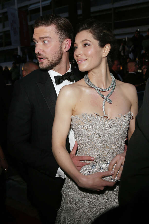 Justin Timberlake and Jessica Biel attend the Premiere of 'Inside Llewyn Davis' at The 66th Annual Cannes Film Festival on May 19, 2013 in Cannes, France. Photo: Venturelli, WireImage / 2013 Venturelli