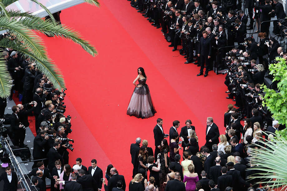 Mallika Sherawat attends the Premiere of 'Inside Llewyn Davis' during the 66th Annual Cannes Film Festival at Palais des Festivals on May 19, 2013 in Cannes, France. Photo: Georges DeKeerle, WireImage / 2013 WireImage
