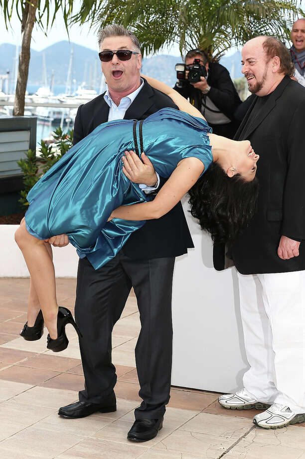 Actor Alec Baldwin and Hilaria Baldwin attend the 'Seduced And Abandoned' Photocall during The 66th Annual Cannes Film Festival at the Palais des Festivals on May 21, 2013 in Cannes, France. Photo: Andreas Rentz, Getty Images / 2013 Getty Images