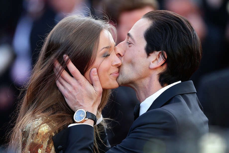 "Lara Lieto  and Adrien Brody attend the ""Cleopatra"" Premiere during the 66th Annual Cannes Film Festival at Grand Theatre Lumiere on May 21, 2013 in Cannes, France. Photo: Vittorio Zunino Celotto, Getty Images / 2013 Getty Images"