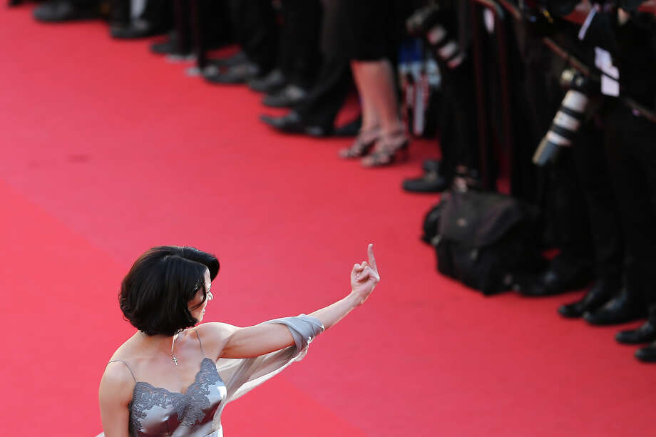 And then this happened...Actress Asia Argento attends the 'Zulu' Premiere and Closing Ceremony during the 66th Annual Cannes Film Festival at the Palais des Festivals on May 26, 2013 in Cannes, France. Photo: Neilson Barnard, Getty Images / 2013 Getty Images