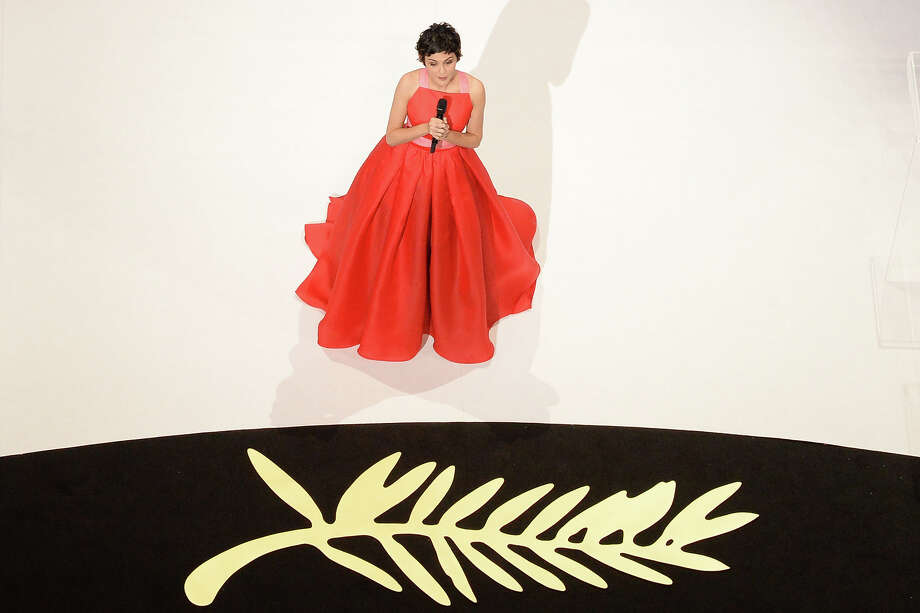 French actress and mistress of ceremonies at the Cannes Film Festival Audrey Tautou speaks on stage on May 26, 2013 during the closing ceremony of the 66th Cannes film festival in Cannes. Photo: AFP, AFP/Getty Images / 2013 AFP