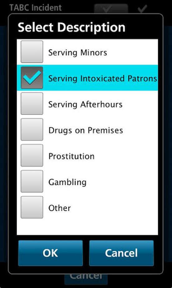 TABC app screenshots
