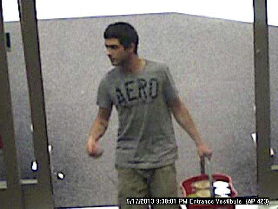 Security camera photo of a man who allegedly stole $191 of infant formula from Target. Photo: Contributed Photo / Connecticut Post Contributed