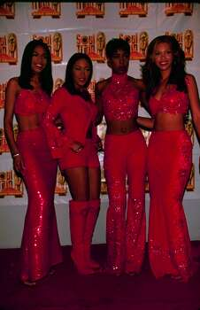 In case anyone is wondering - yes, Destiny's Child was once a foursome. The group first included Latavia Roberson and Letoya Luckett, Kelly Rowland and Beyonce. 