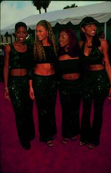This midriff-baring look is not too bad with the all-black outfits. (Photo by Time & Life Pictures/Getty Images) Photo: Time & Life Pictures, Time Life Pictures/Getty Images / Time & Life Pictures