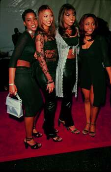 Destiny's Child seems to look the best when they dress all in black.  (Photo by Time & Life Pictures/Getty Images) Photo: Time & Life Pictures, Time Life Pictures/Getty Images / Time & Life Pictures