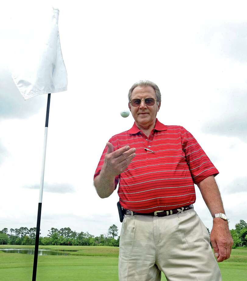 Bobby Minaldi, of Nederland, hit his hole-in-one in December of 2012 at Bayou Din Golf Club on Hole #7. Photo taken: Randy Edwards/The Enterprise Photo: Randy Edwards