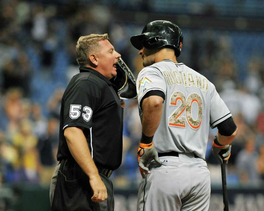 "Umps or refsWhat Salary.com said: ""Umpires, line judges and referees face more than heckling wannabes in the stands these days since instant replay technology lets us judge the judges.""Source: Salary.com Photo: Al Messerschmidt, Getty Images / 2013 Getty Images"