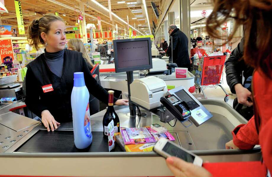 "CashierWhat salary.com said: ""E-commerce and self-checkout have eased our need for cashiers. Turns out we can crush our own bread and break the eggs at roughly the same rate and with less of a wait.""Source: Salary.com Photo: PHILIPPE HUGUEN, Getty Images / 2013 AFP"