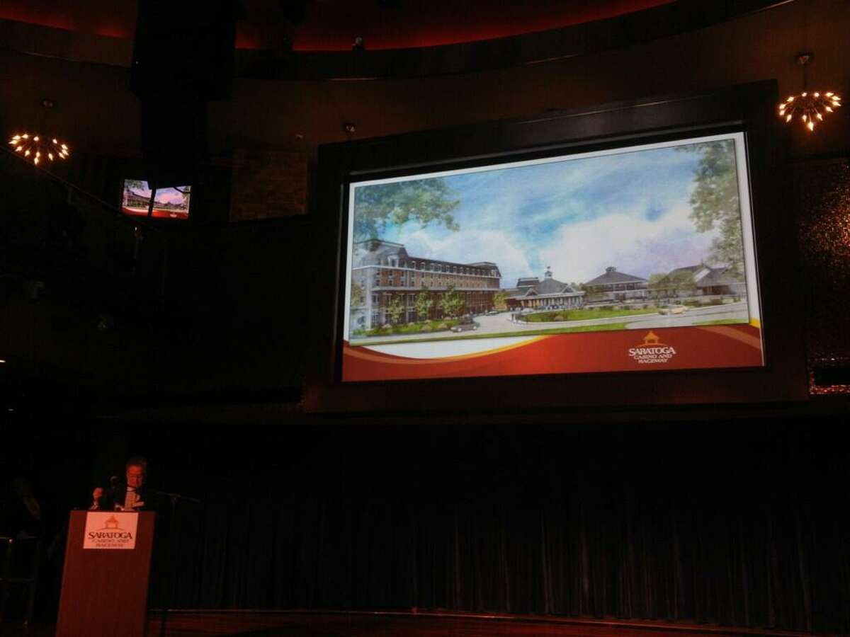The proposed expansion of Saratoga Casino and Raceway. (Cindy Schultz/Times Union)