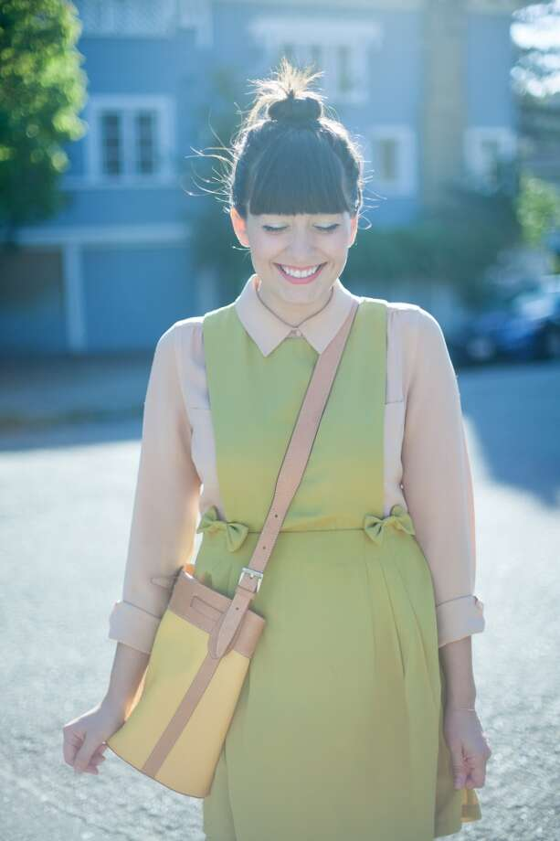 Erin Hagstrom of Calivintage is an editorial specialist at ModCloth and chronicles her vintage and vintage-inspired style, often with a sense of humor.