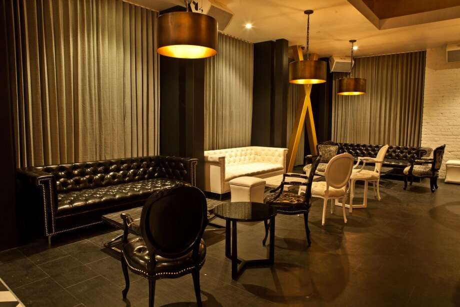 The lounge area that will be facing Mission Street