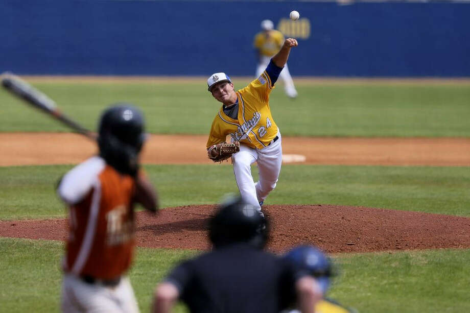 Former Reagan pitcher Matt McClain claimed an 8-4 record and a 2.34 ERA during his just-completed sophomore season with St. Mary's University. Photo: Courtesy Photo