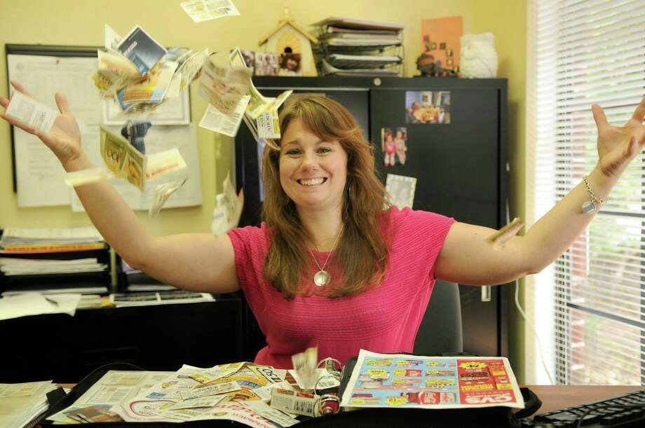 The Woodlands coupon guru Tiffany Ivanovsky will be offer Couponing 101 and 201 in The Woodlands this summer. Ivanovsky says her weekly savings from couponing are the equivalent of paychecks for her family. Photo: Jerry Baker, Freelance
