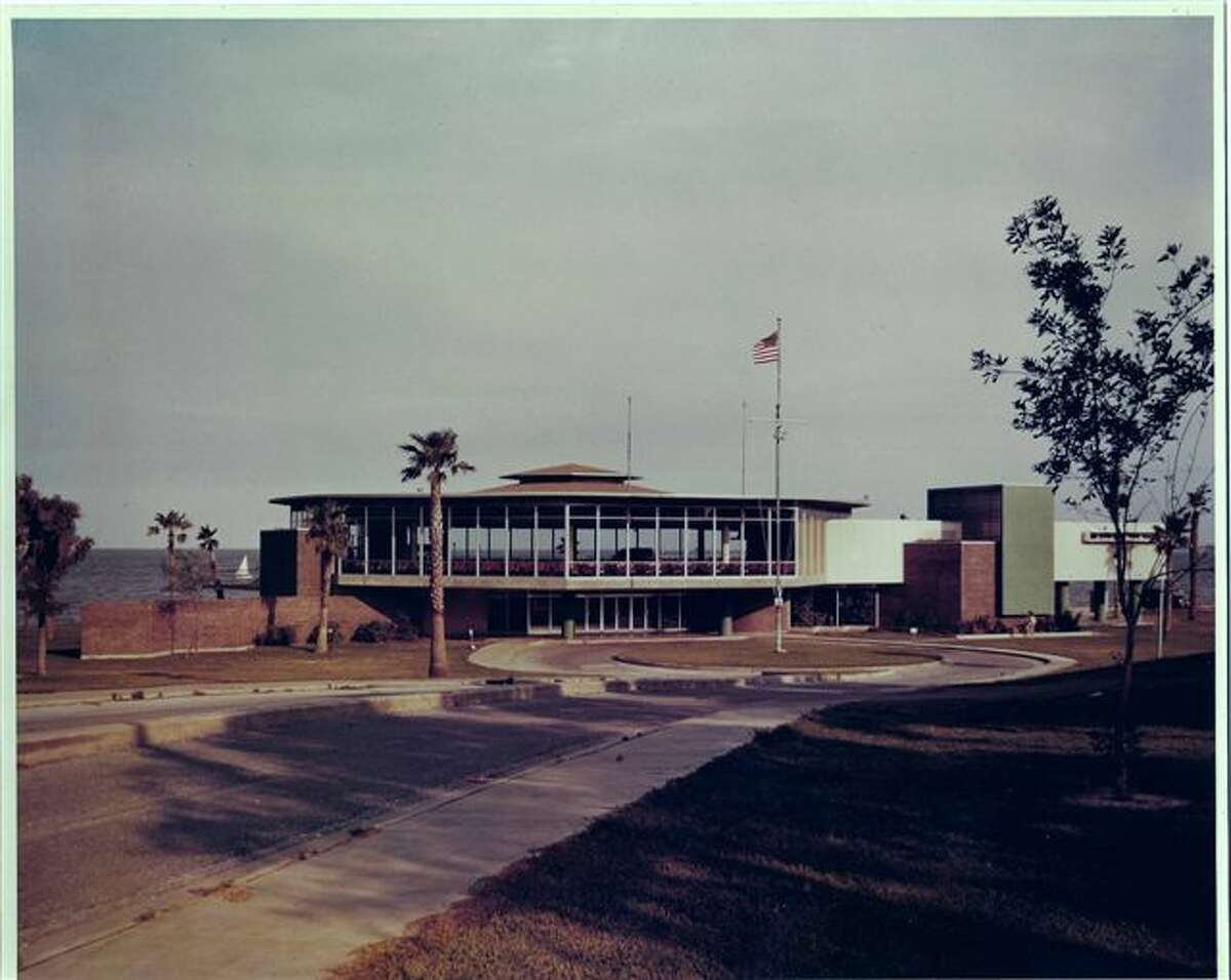 This photo shows what the Sylvan Pavilion looked like in 1956.
