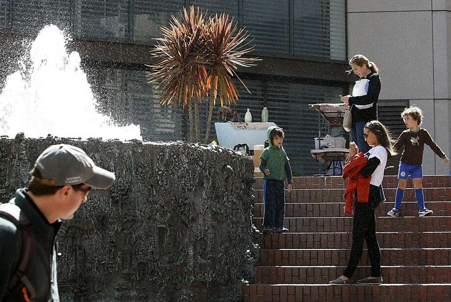 Apple's new Union Square store could shrink an adjacent plaza and displace Ruth Asawa's San Francisco-themed fountain.