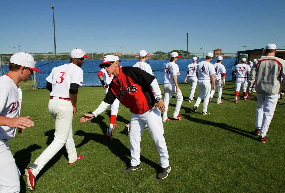St. Thomas baseball coach Craig Biggio was proud of his Eagles, who advanced all the way to to the state semifinals before falling to district rival St. Pius. Photo: Cody Duty, Staff / © 2013 Houston Chronicle