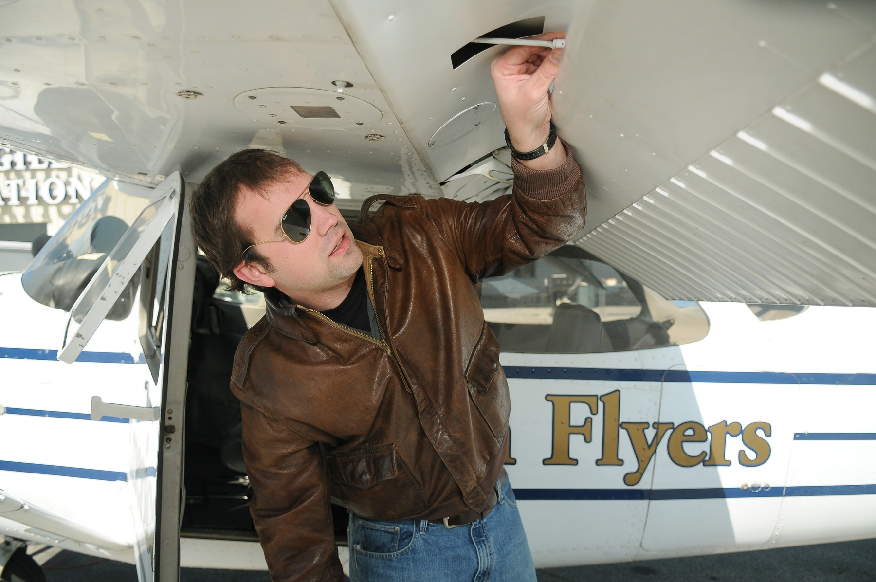 Learn to fly a plane at Hooks Airport - Houston Chronicle