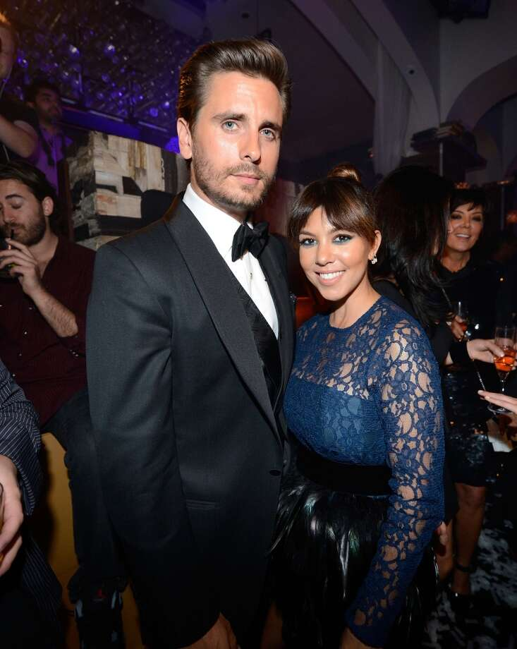 LAS VEGAS, NV - MAY 26:  Television personalities Scott Disick (L) and Kourtney Kardashian celebrate Scott's 30th birthday at Hyde Bellagio at the Bellagio over Memorial Day weekend on May 26, 2013 in Las Vegas, Nevada.  (Photo by Jeff Bottari/WireImage)