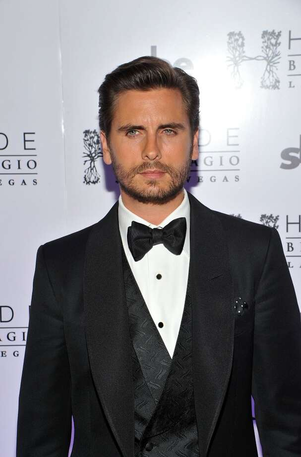 LAS VEGAS, NV - MAY 26:  Television personality Scott Disick arrives celebrates his 30th birthday at Hyde Bellagio at the Bellagio over Memorial Day weekend on May 26, 2013 in Las Vegas, Nevada.  (Photo by Jeff Bottari/WireImage)
