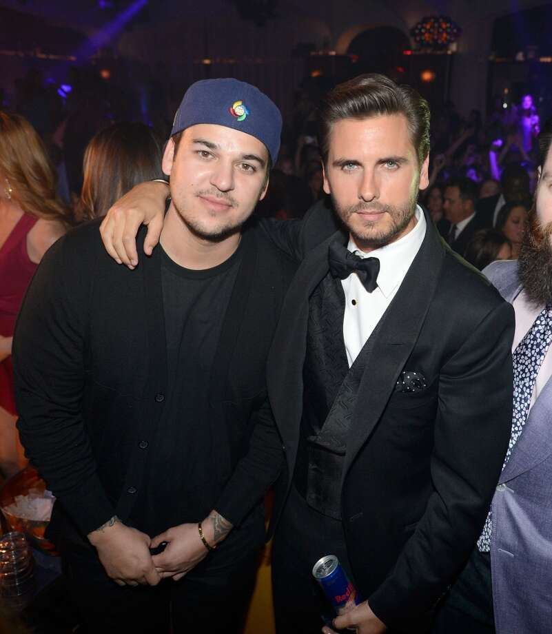 LAS VEGAS, NV - MAY 26:  Televison personalities Robert Kardashian Jr. (L) and Scott Disick celebrate Scott's 30th birthday at Hyde Bellagio at the Bellagio over Memorial Day weekend on May 26, 2013 in Las Vegas, Nevada.  (Photo by Jeff Bottari/WireImage)