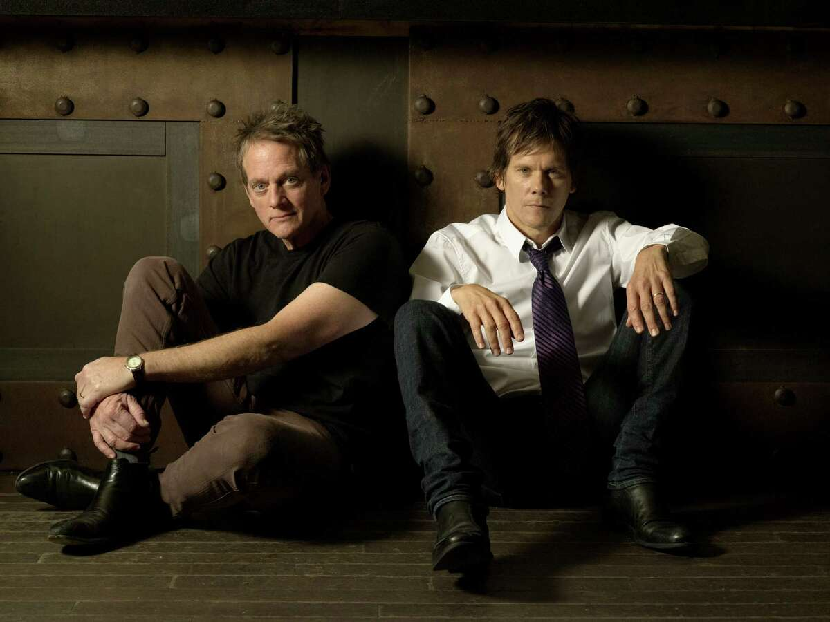 Michael and Kevin Bacon grew up playing music together, and formed The Bacon Brothers band 20 years ago. They will hot the stage at the Ridgefield Playhouse on Friday. Find out more.