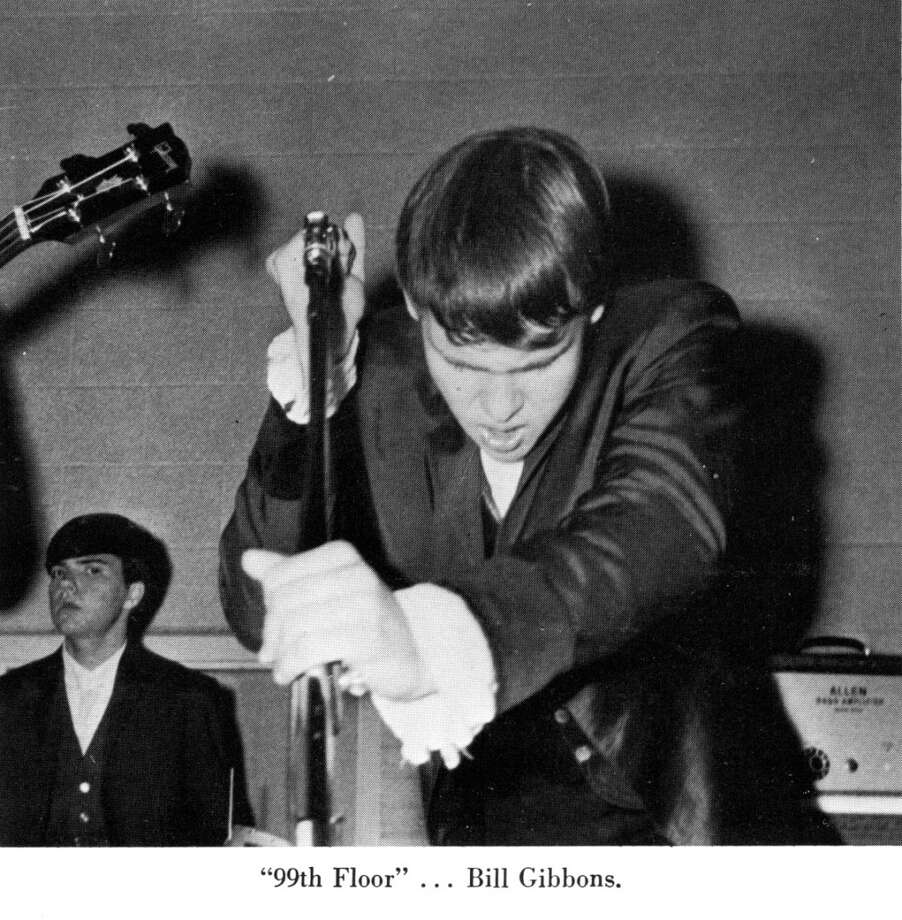 Billy Gibbons of ZZ Top as a Lee High School student.