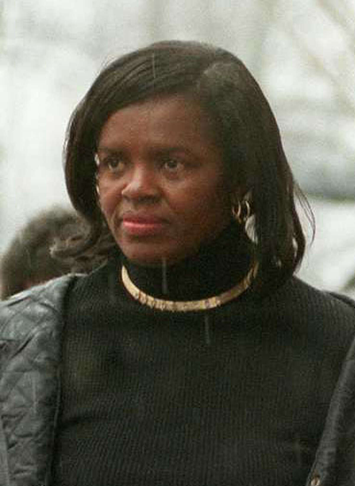 Pearyllyn Reid , mother Franklyn Reid in this file photo from, Tuesday Feb. 2, 1999.