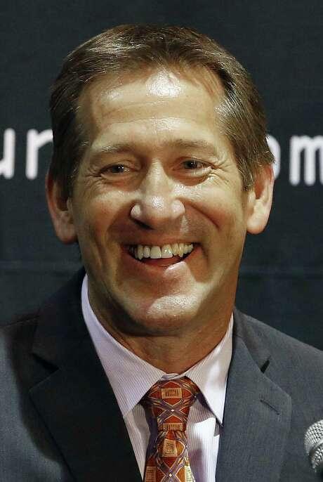 The Suns introduced Jeff Hornacek as their new coach Tuesday.