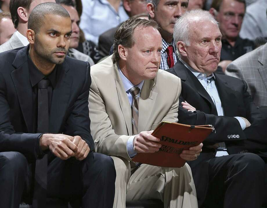 Spurs assistant coach Mike Budenholzer will take over in Atlanta after the NBA Finals. He's been in San Antonio since 1994.
