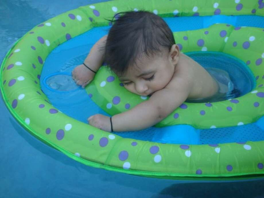 Too tired to swim. Photo: Romi Kaur