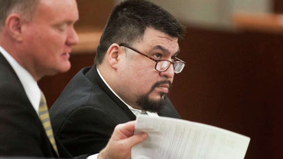 Jorge Amezquita is accused of killing Leo Gomez Sr. and his wife, Milagro Vanegas, both 53, during a home invasion June 24, 2008. He was scheduled for the death penalty but the Harris County District Attorney has now decided to pursue life without parole.Read more at HoustonChronicle.com. Photo: J. Patric Schneider, . / © 2013 Houston Chronicle