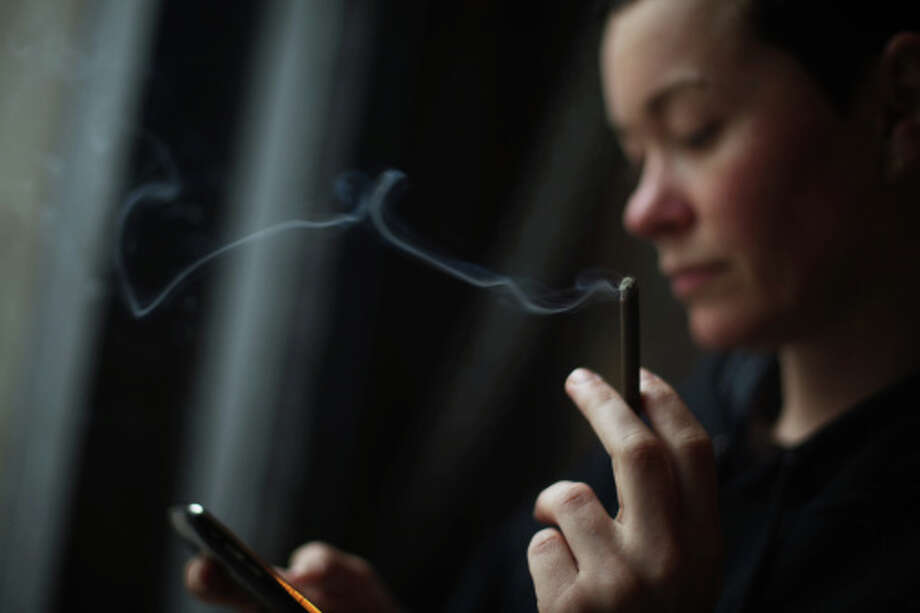 SMOKING Quit smoking. Nicotine is a stronger stimulant than caffeine. It can worsen snoring and may cause life-threatening sleep apnea. Photo: WIN-Initiative, Getty Images/WIN-Initiative RM / WIN-Initiative RM