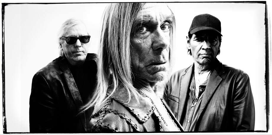 Iggy and the Stooges, featuring, from left, James Williamson, Iggy Pop and Scott Asheton Photo: David Raccuglia