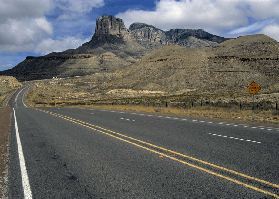 Guadalupe Peak: 8,749 feet